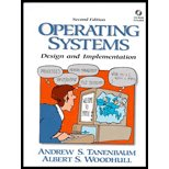 Operating Systems : Design and Implementation -: Andrew S. Tanenbaum
