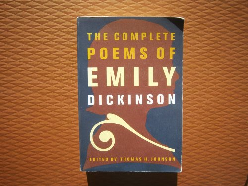 9780003551303: The complete poems of Emily Dickinson ; edited by Thomas H. Johnson