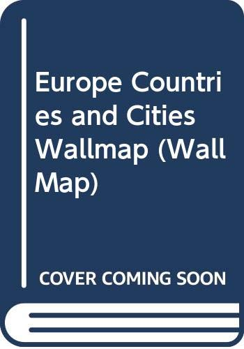 9780003603316: Europe Countries and Cities Wallmap (Wallmaps)