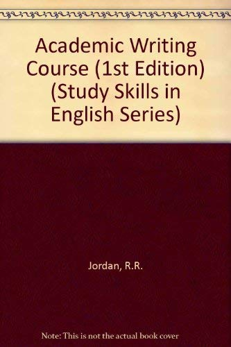 9780003700046: Academic Writing Course (Collins study skills in English)