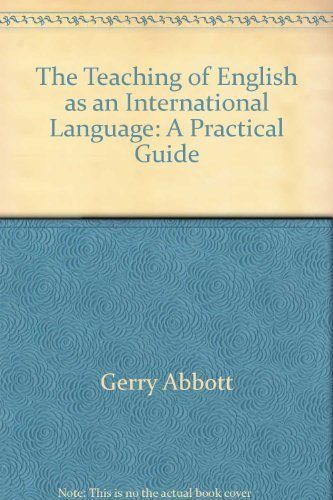 9780003700190: Teaching of English as an International Language: A Practical Guide