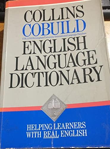 9780003700237: Collins COBUILD English Language Dictionary