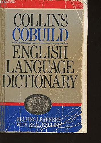 Collins Cobuild English Language Dictionary : Collins Birmingham University International Languaj...