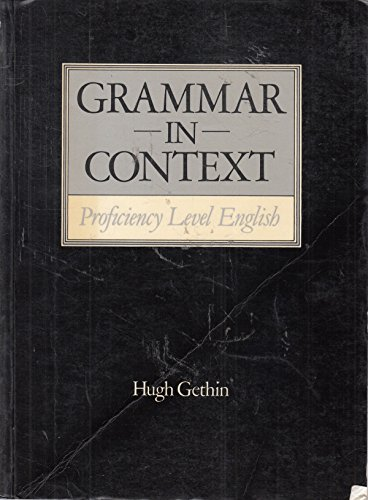 9780003700251: Grammar in Context: Proficiency Level English (1st Edition)