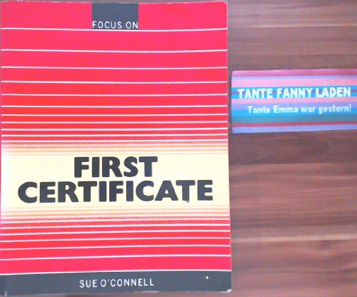 9780003700510: Focus on First Certificate