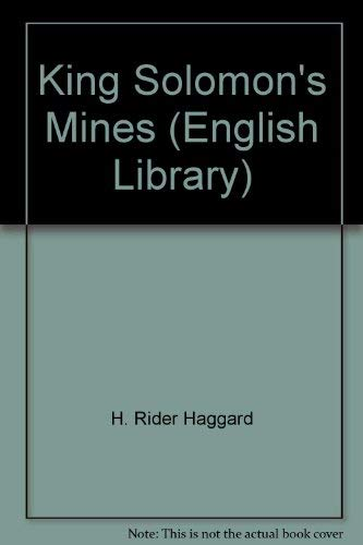 9780003700770: King Solomon's Mines (English Library)