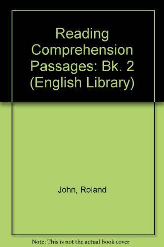 9780003701029: Reading Comprehension Passages: Bk. 2 (English Library)