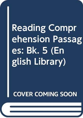 9780003701050: Reading Comprehension Passages: Bk. 5 (English Library)