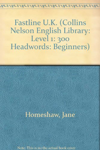 9780003701586: Fastline U.K. (Collins Nelson English Library: Level 1: 300 Headwords: Beginners)