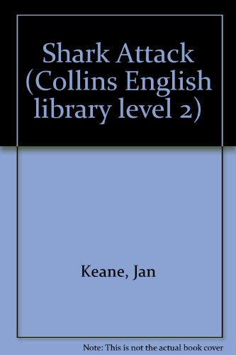 9780003701685: Shark Attack (Collins English library level 2)