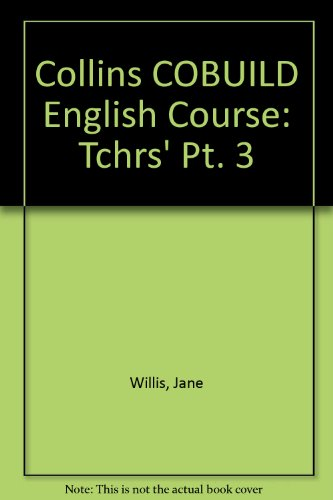 9780003702361: Collins COBUILD English Course: Tchrs' Pt. 3