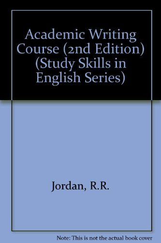 9780003702491: Academic Writing Course (2nd Edition) (Study Skills in English Series)