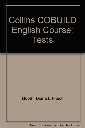 9780003702675: Collins COBUILD English Course: Tests