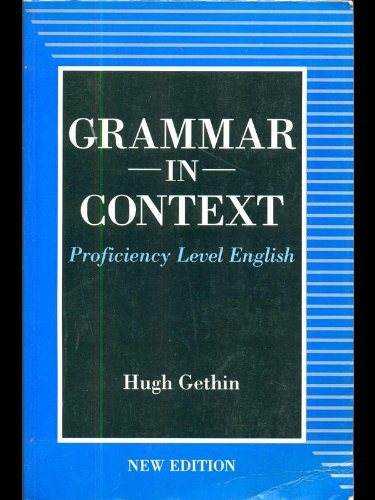 9780003703337: Grammar in Context: Proficiency Level English (2nd Edition)