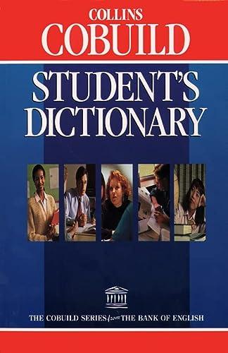 9780003704273: Student's Dictionary (Collins Cobuild)