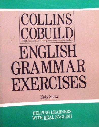 9780003704280: Collins COBUILD English Grammar: Exercises (Collins Cobuild grammar)