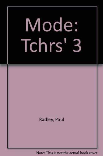 9780003704556: Mode: Tchrs' 3