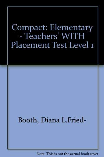 9780003705010: Compact: Elementary - Teachers' WITH Placement Test Level 1