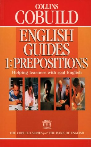 9780003705201: Collins COBUILD English Guides: Prepositions Bk. 1