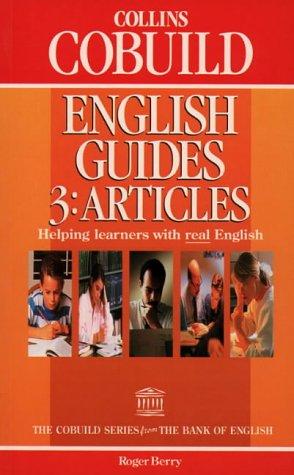 9780003705614: Collins Cobuild English Guides (3) - Articles: Articles Bk.3