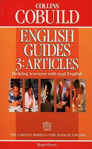 9780003705614: Collins COBUILD English Guides: Articles Bk.3