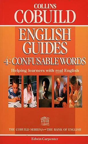 9780003705621: Collins Cobuild English Guides (4) - Confusable Words: Confusable Words Bk. 4