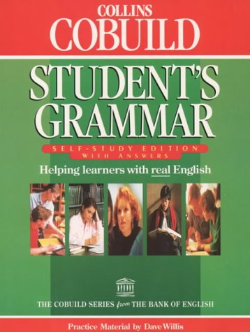 9780003705638: Collins Cobuild - Student's Grammar: Self-Study Edition With Answers
