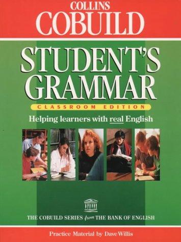 9780003705645: Collins Cobuild Student's Grammar, Classroom Edition