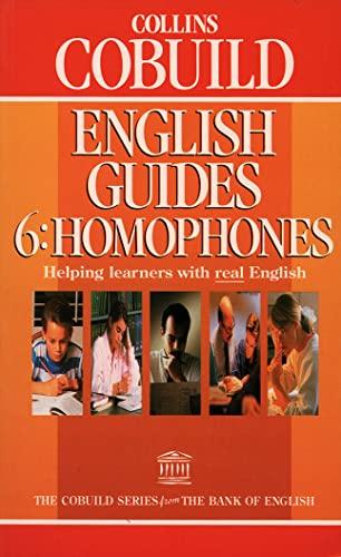 9780003705652: Collins COBUILD English Guides: Homophones Bk.6
