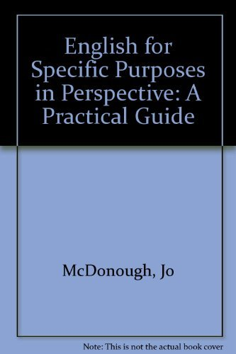 9780003706000: English for Specific Purposes in Perspective: A Practical Guide