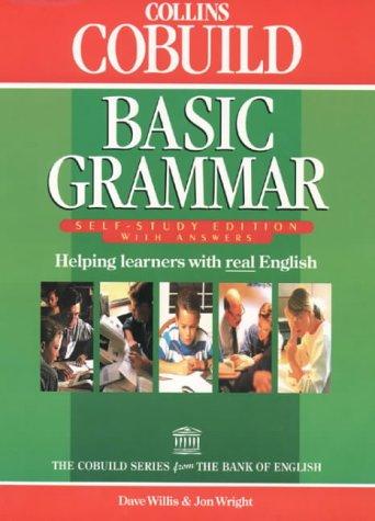 9780003709346: Collins Cobuild - Basic Grammar: Self-Study Edition With Answers (Collins Cobuild grammar)
