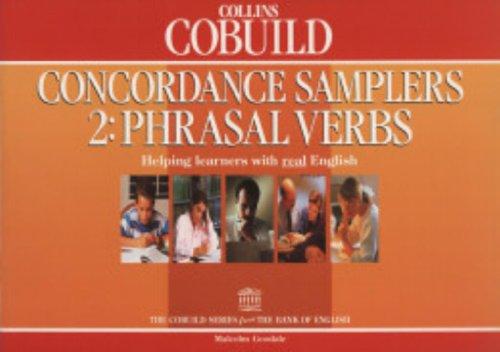 9780003709391: Collins Cobuild: Concordance Samplers: Book 2: Phrasal Verbs