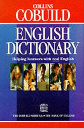 9780003709414: Collins COBUILD English Dictionary (Collins Cobuild dictionaries)