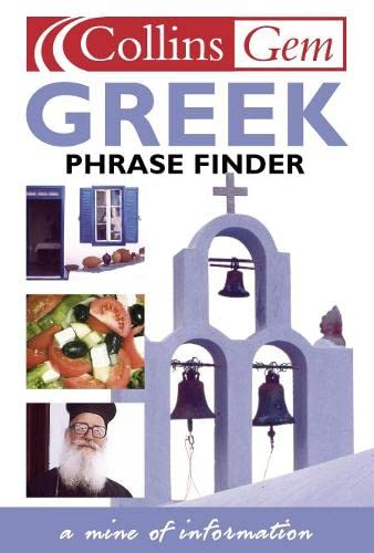 9780003711219: Collins Gem Greek Phrase Finder (Book & Cassette)