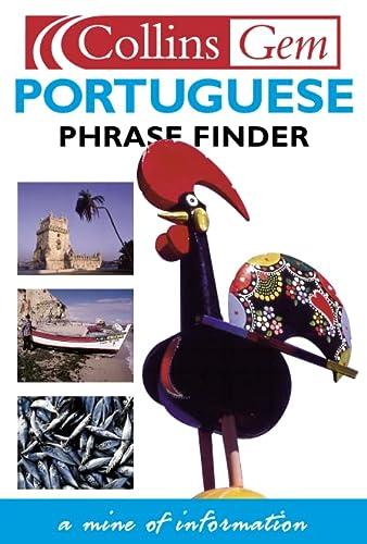 9780003711226: Collins Gem Portuguese Phrase Finder (Book & Cassette)