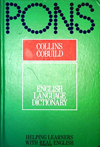 9780003750218: Collins Cobuild English Language Dictionary: Helping Learners with Real English