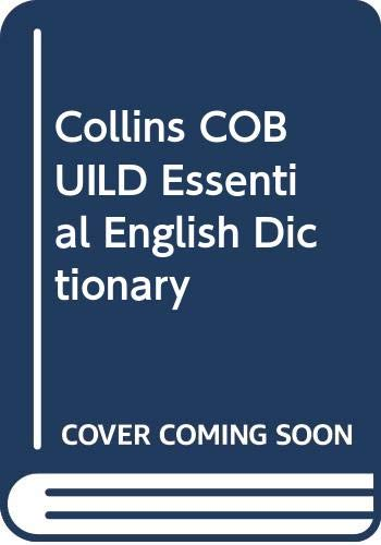 9780003750225: Collins COBUILD Essential English Dictionary
