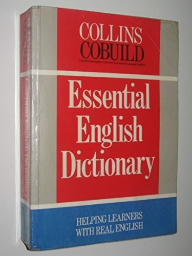 9780003750263: Collins COBUILD Essential English Dictionary