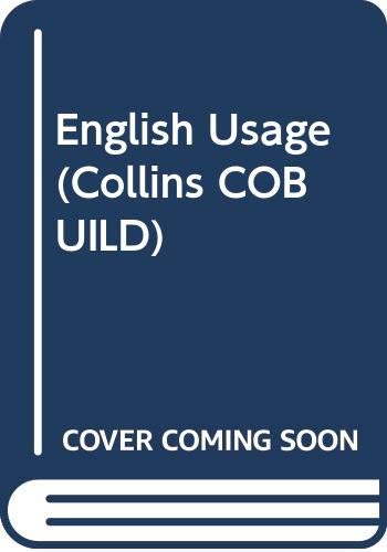 9780003750270: English Usage (Collins CoBUILD)