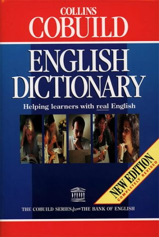 9780003750294: Collins Cobuild English dictionary (The Cobuild series from the Bank of English)