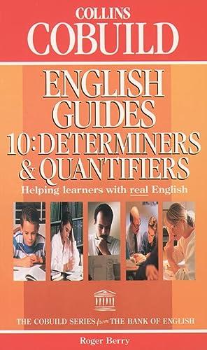 9780003750393: Collins COBUILD English Guides: Determiners and Quantifiers Bk.10