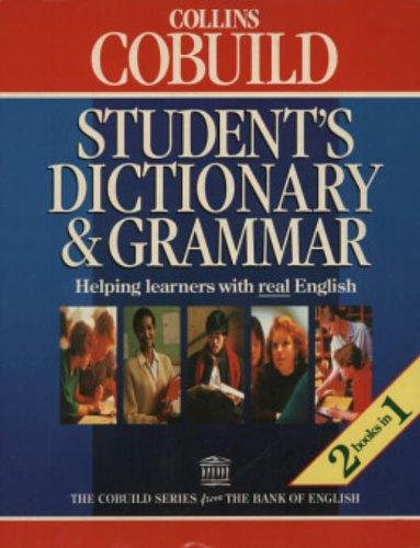9780003750423: Collins Cobuild Student's Dictionary and Grammar