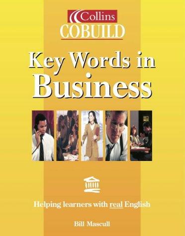 9780003750454: Collins Cobuild - Key Words in Business (Collins Cobuild usage)