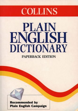 9780003750560: Plain English Dictionary