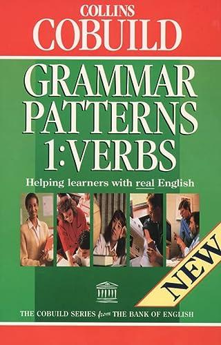 9780003750621: Grammar Patterns 1: Verbs (COBUILD)