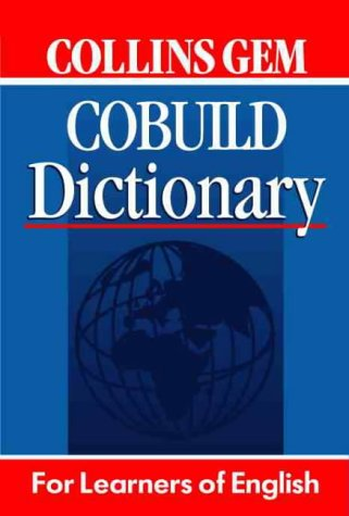 9780003751161: Collins Gem COBUILD Dictionary: For Learners of English