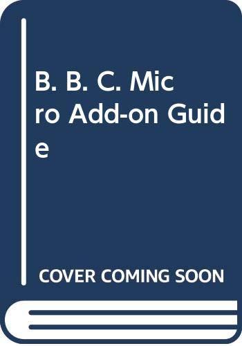 9780003830095: B. B. C. Micro Add-on Guide