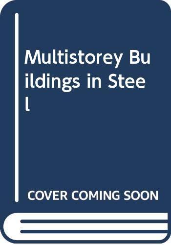 9780003830316: Multistorey Buildings in Steel