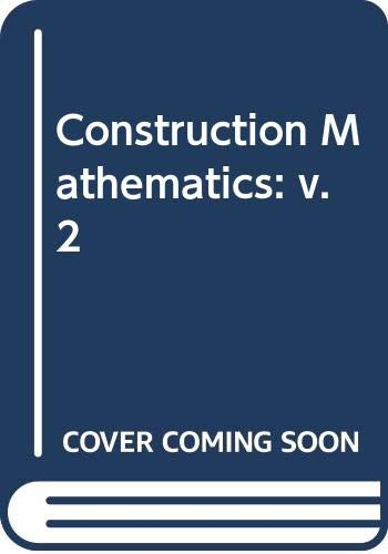 9780003830354: Construction Mathematics: v. 2 (Collins BTEC technician series)