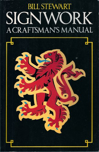 9780003830682: Signwork: A Craftsman's Manual